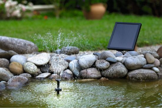 Tendance Jardin - Fontaine solaire - Les doigts Fleuris