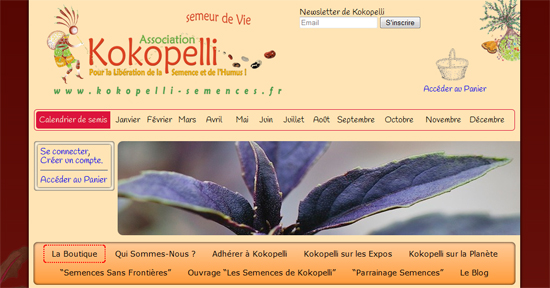Association Kokopelli – Boutique De Semences