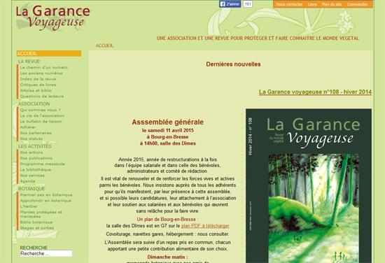La Revue «La Garance Voyageuse»