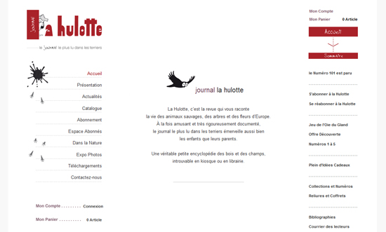 Le Journal «La Hulotte»