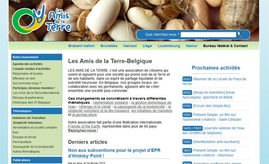 Association Les Amis De La Terre – Belgique