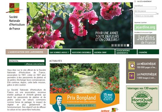La Société Nationale D'Horticulture De France (SNHF)