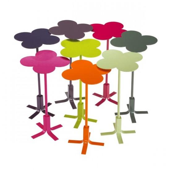 Tendances Jardin - Un bouquet de tables gigognes en forme de fleur pour jardin et terrasse ! - Les Doigts Fleuris