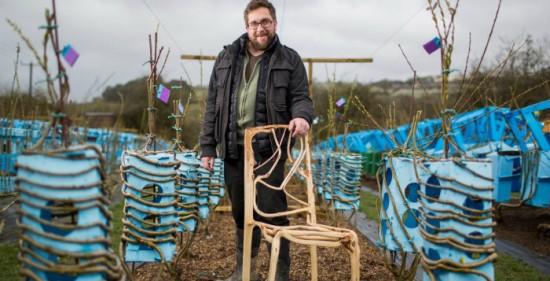 Il cultive et produit des chaises ! Oui, vous avez bien lu ! - Les Doigts Fleuris