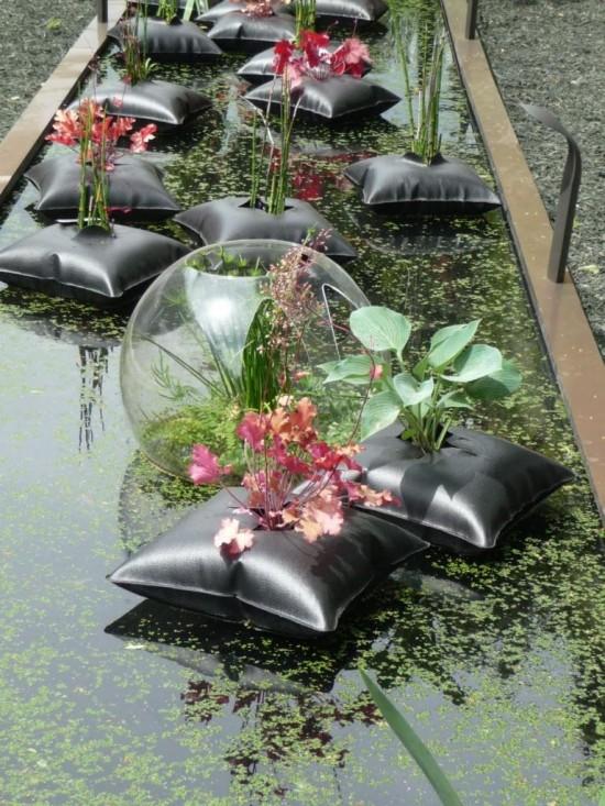 Coussin Flottant Green Pillow - Les Doigts Fleuris
