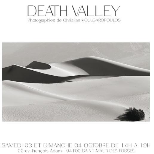 Christian Voulgaropoulos - Death Valley - Visites d'ateliers d'artistes - Saint-Maur-des-Fossés - Les Doigts Fleuris
