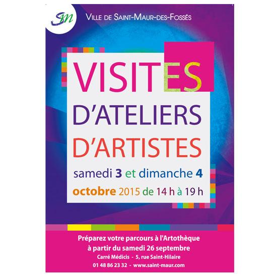 Visites D'ateliers D'artistes - Saint-Maur-des-Fossés - Les Doigts Fleuris