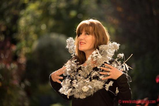 Fabriquer vos guirlandes et couronnes de Noël en Clématite Sauvage - Les Doigts Fleuris